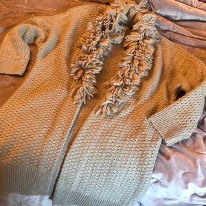 Chico's Light Tan Long Sweater